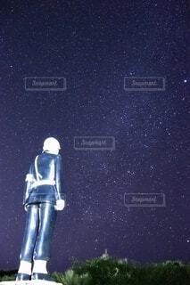 風景,夜,夜景,夜空,星空,沖縄,景色,ライト,光,星,宮古島,天の川,警察,沖縄県,下地島,インスタ映え,星空フォト