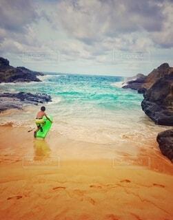 自然,海,空,屋外,ビーチ,雲,水面,海岸,ラグーン 冒険 少年 旅立ち ハワイ 荒波