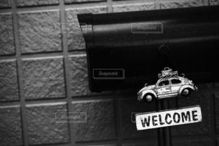 車,ビートル,カブトムシ,welcome