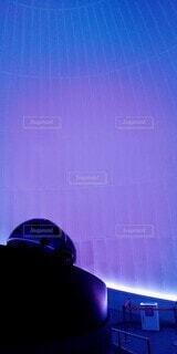 紫,パープル,リラックス,プラネタリウム,非日常,上映