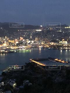 港の夜景の写真・画像素材[4125168]