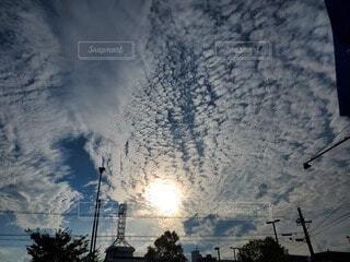 綺麗な空の写真・画像素材[4141418]