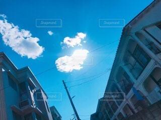 空,太陽,雲,青空,ハート,幸せ,奇跡