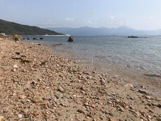 自然,風景,海,空,屋外,湖,ビーチ,水面,山,地面