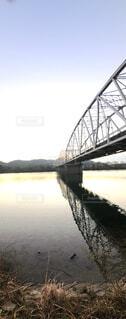 空,建物,橋,屋外,湖,川,水面,ビームブリッジ