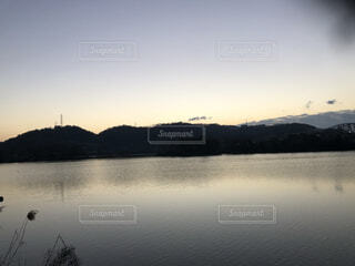 自然,風景,空,屋外,湖,雲,ボート,川,水面,池,山,樹木