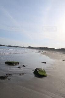 海,空,ビーチ,波,水面,海岸,壁