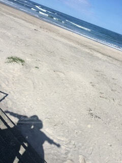 海,屋外,ビーチ,海岸,影,人物,人,青春