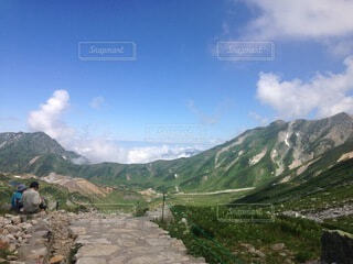自然,風景,空,屋外,雲,山,丘,山脈