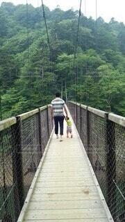 とある橋の写真・画像素材[4135172]