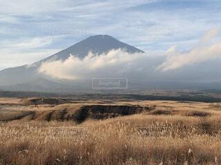 自然,風景,空,屋外,雲,山,景色,草,乾燥