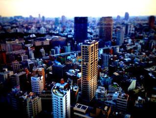 都会の風景(ミニチュア風)の写真・画像素材[4134859]