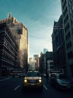 ニューヨーク,車,タクシー