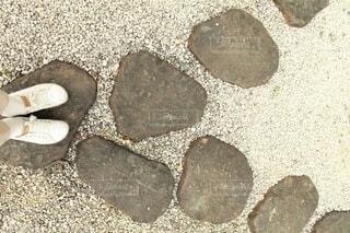 岩の分かれ道の写真・画像素材[4194787]