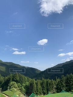 自然,空,屋外,雲,山,樹木