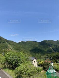 風景,空,屋外,雲,山,樹木,草木