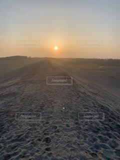 自然,空,屋外,太陽,ビーチ,地面,日の出