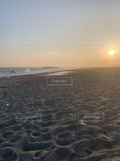 自然,海,空,屋外,砂,ビーチ,雲,水面,海岸