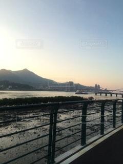 橋のクローズアップの写真・画像素材[4154715]