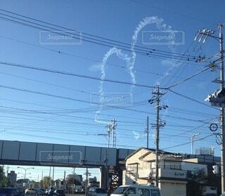 空,屋外,雲,電気,ライン,電線路,電源供給,公益企業