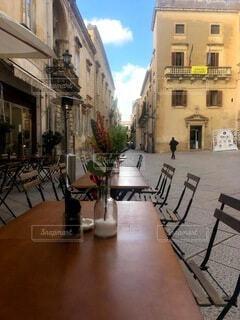 カフェ,建物,家,椅子,テーブル,都会,家具,レストラン,イタリア,通り,バール