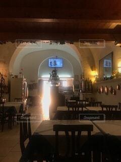 屋内,椅子,テーブル,家具,アーチ,レストラン,天井,イタリア