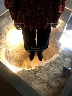 洞窟,美術館,イタリア,石,歴史,トスカーナ,履物,浮いてる