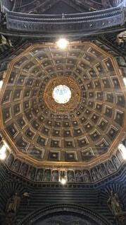 屋根,ドーム,教会,天井,イタリア,フィレンツェ,トスカーナ,ホール,対称