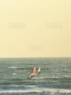 ウィンドサーフィンの写真・画像素材[4186145]
