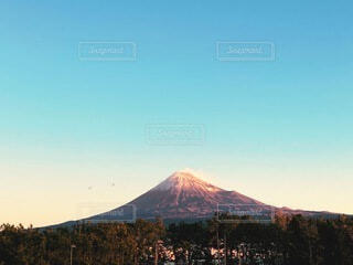 風景,空,山
