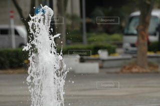 噴水の写真・画像素材[4143297]