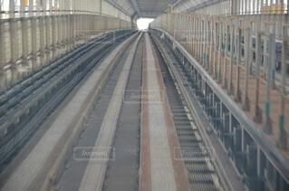 橋,屋外,線路,車窓,鉄道,ゆりかもめ,ライン