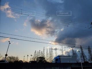 自然,空,鳥,屋外,雲