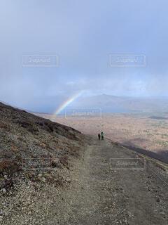 自然,風景,空,屋外,虹,山,丘