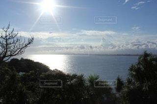 自然,空,屋外,湖,ビーチ,雲,水面,山,樹木