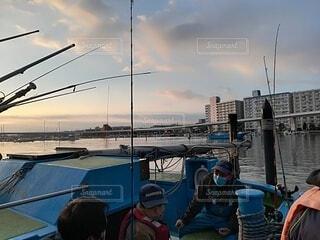 空,屋外,雲,ボート,船,水面,水上バイク