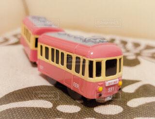 屋内,ピンク,かわいい,おもちゃ,ガチャガチャ,鉄道,江ノ電,車両,玩具,グッズ,500系,陸上車両