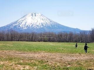 自然,空,屋外,山,景色,草,樹木,バック グラウンド