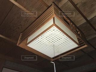 床の間の照明(和風ペンダント)の写真・画像素材[4160084]
