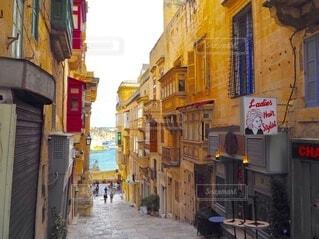 マルタの小路の写真・画像素材[4149837]