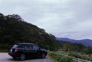 自然,山,jeep
