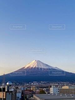 風景,空,富士山,屋外,雲,山,快晴,富士市,成層火山