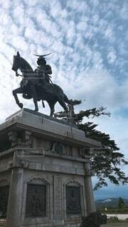 空,屋外,旅行,馬,像,彫刻