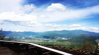 風景,空,屋外,雲,山,旅行,高原,パノラマ