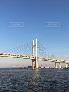 風景,海,空,橋,屋外,綺麗,港,吊り橋,眺め