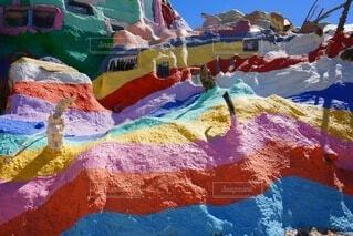 夏,屋外,カラフル,綺麗,絵画,装飾,明るい,カラー,塗装,図面
