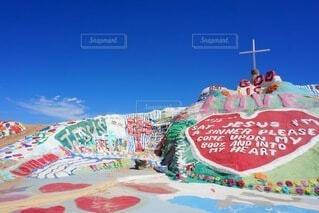 空,夏,海外,カラフル,綺麗,旅行,絵画,カラー,塗装