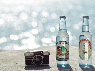 クローズ ボトルのアップの写真・画像素材[1270670]