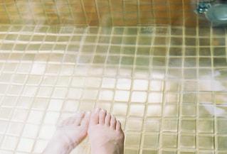 足湯で一息の写真・画像素材[1802940]