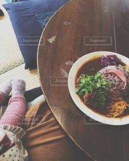 食べ物,畳,カレー,カレーライス,ちゃぶ台